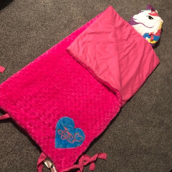 Jojo Siwa Pink Sleeping Bag EUC